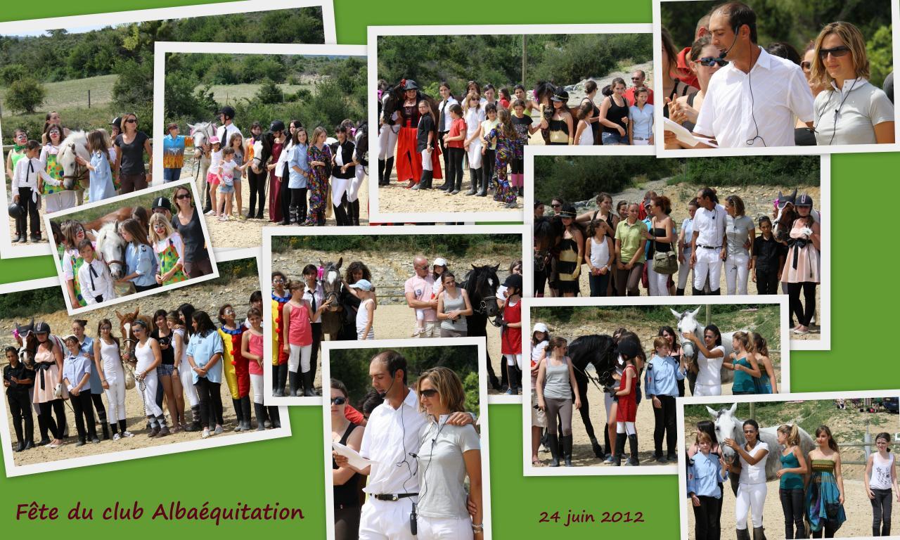 Fête du club ALBA EQUITATION 24juin1213