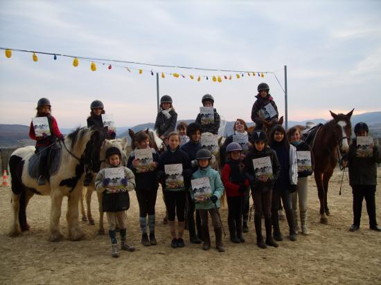 Noël 2010 à alba equitation