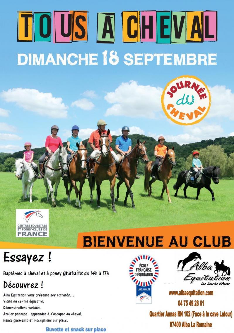 Affiche journee du cheval 2016