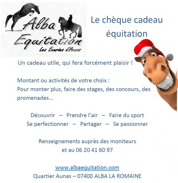 Alba equitation noel 2018