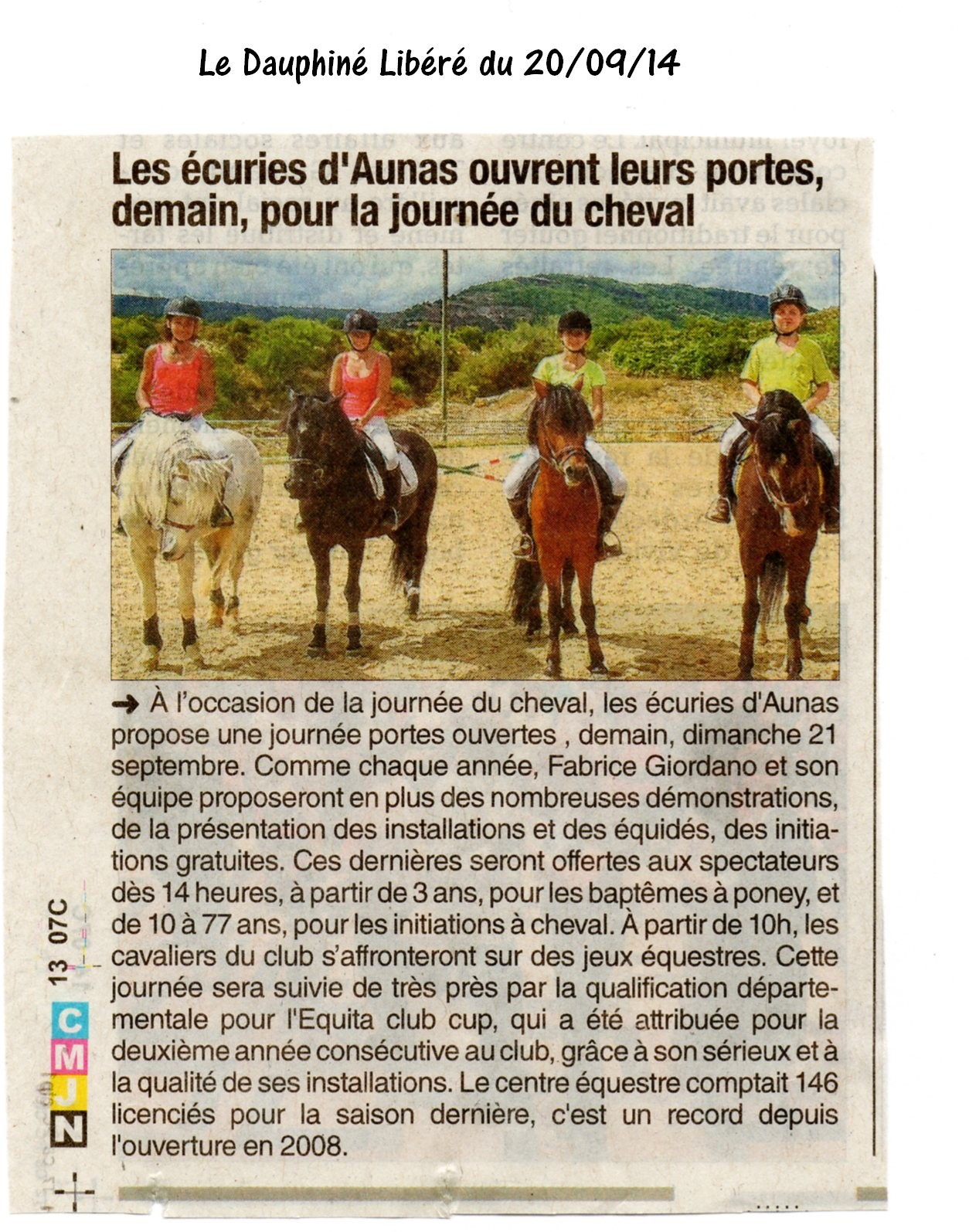 Fete du cheval 2014