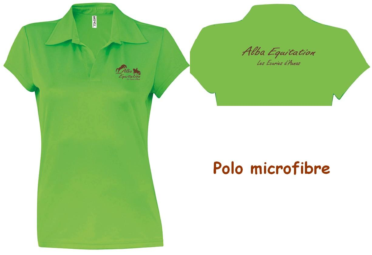 Polo microfibre