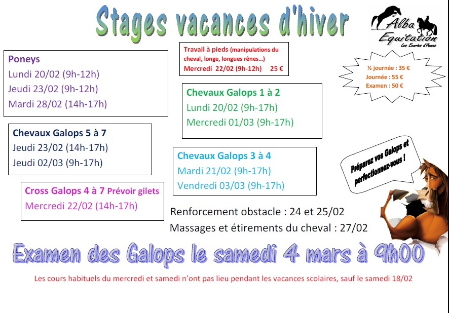 Stages fev 2017